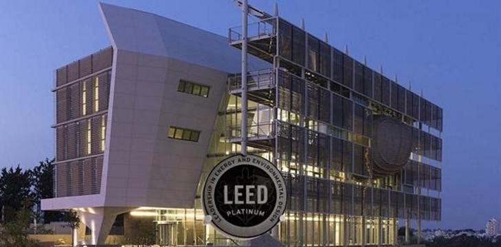 PSES building attained LEED Platinum certification