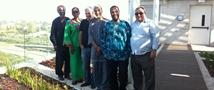 """Leaders of the """"Hebrews"""" Community Take a Study Tour of the Building"""