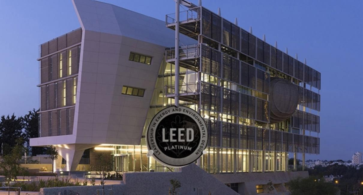 Officially green the building attained leed platinum for Platinum leed certification