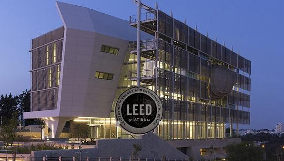 Officially Green The Building Attained Leed Platinum