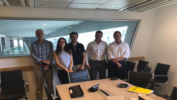 Airbus Delegation Visiting Capsula