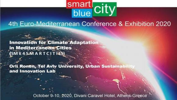 Innovation for Climate Adaptation in Coastal Mediterranean Cities