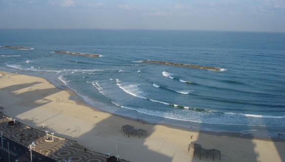 Tel Aviv Beach at Dawn