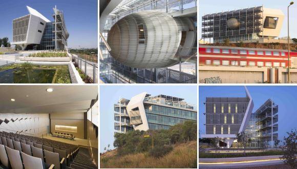 The Porter School Building in an article regarding Modern Projects Across Israel