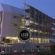 Officially Green: The building attained LEED Platinum certification!